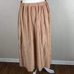 Vintage 70s handmade skirt with pockets